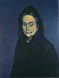 Pablo Picasso - Celestina - (oil painting reproductions)