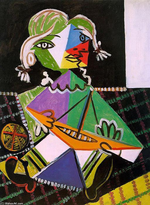 Maya Mit Boot 1938 Von Pablo Picasso 1881 1973 Spain Museum