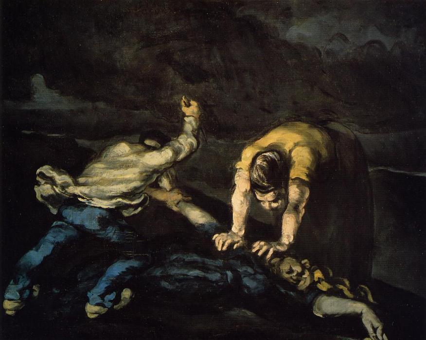 Resultado de imagen para 'El asesinato' de Paul Cézanne
