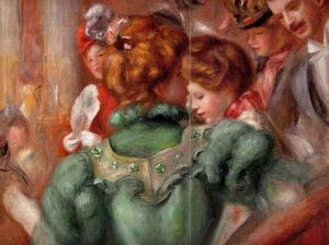 Pierre-Auguste Renoir - A Box in the Theater des Varietes - (oil painting reproductions)