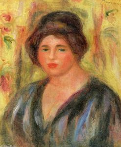 Pierre-Auguste Renoir - Woman`s Head