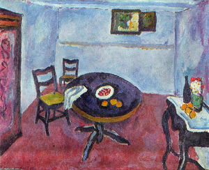 Pyotr Konchalovsky - Room in Spain (Valencia)