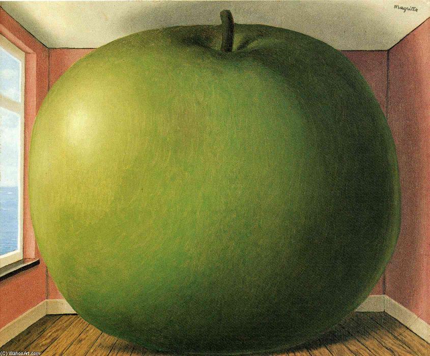 el escuchar habitación , 1952 de Rene Magritte (1898-1967, Belgium) | |  WahooArt.com