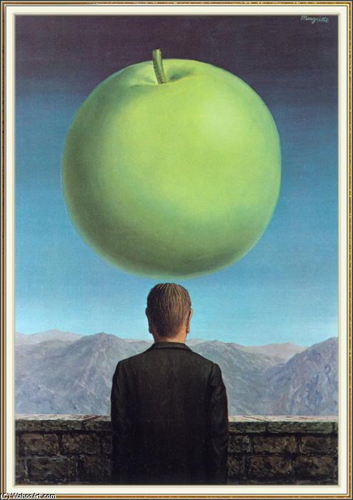 la postal, 1960 de Rene Magritte (1898-1967, Belgium) | | WahooArt.com