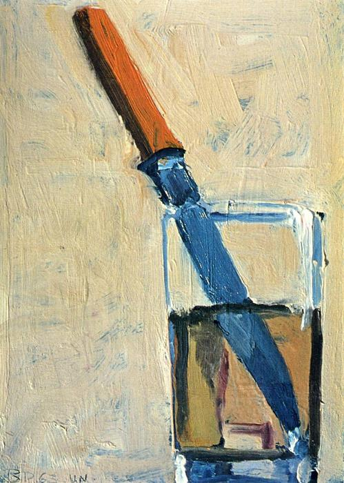 Knife And Glass By Richard Diebenkorn 1922 1993 United States