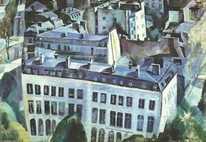 Robert Delaunay - Study for The City