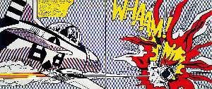 Roy Lichtenstein - Whaam! - (oil painting reproductions)