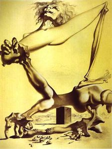 Salvador Dali - Premonition of Civil War - (oil painting reproductions)