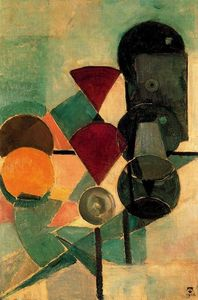 Theo Van Doesburg - Composition II (Still life)