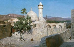 The mosque in Jenin