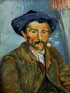 Vincent Van Gogh - The Smoker (Peasant)