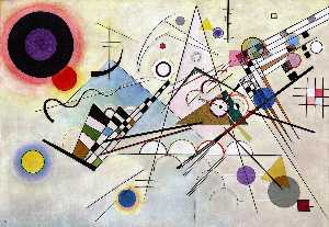 Wassily Kandinsky - Composition VIII - (oil painting reproductions)