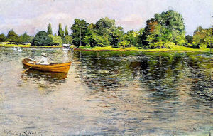 William Merritt Chase - Summertime (Pulling for Shore)