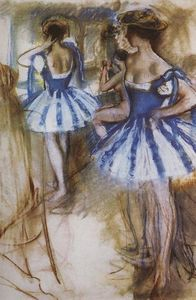 Zinaida Serebriakova - Two dancers