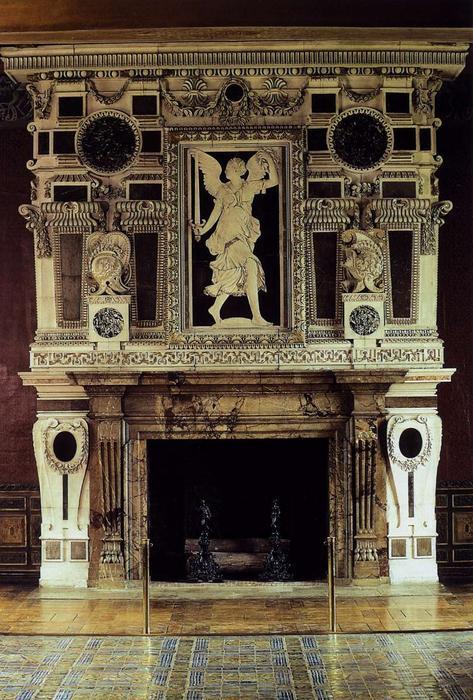 manteau de chemin e 1552 de niccol dell 39 abbate 1512. Black Bedroom Furniture Sets. Home Design Ideas