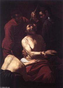 Caravaggio (Michelangelo Merisi) - The Crowning with Thorns