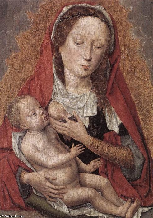 vierge à l`enfant, 1478 de Hans Memling (1430-1494, Germany) |  Reproductions De Qualité Musée Hans Memling | WahooArt.com
