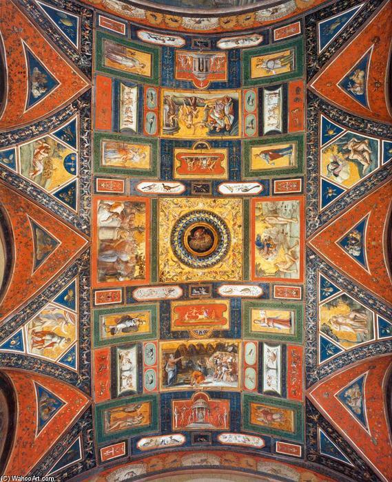 Ceiling decoration (Volta Dorata), 1519 by Baldassare