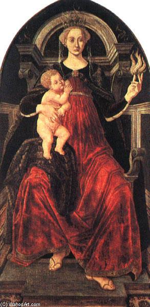 Carità, 1469 di Piero Del Pollaiuolo (Piero Benc) (1443-1496, Italy) |  Riproduzioni D'arte Piero Del Pollaiuolo (Piero Benc) | WahooArt.com