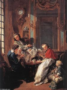 François Boucher - The Afternoon Meal