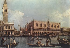 Giovanni Antonio Canal (Canaletto) - View of the Bacino di San Marco (St Mark's Basin)