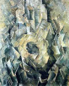 Georges Braque - Mandola - (oil painting reproductions)