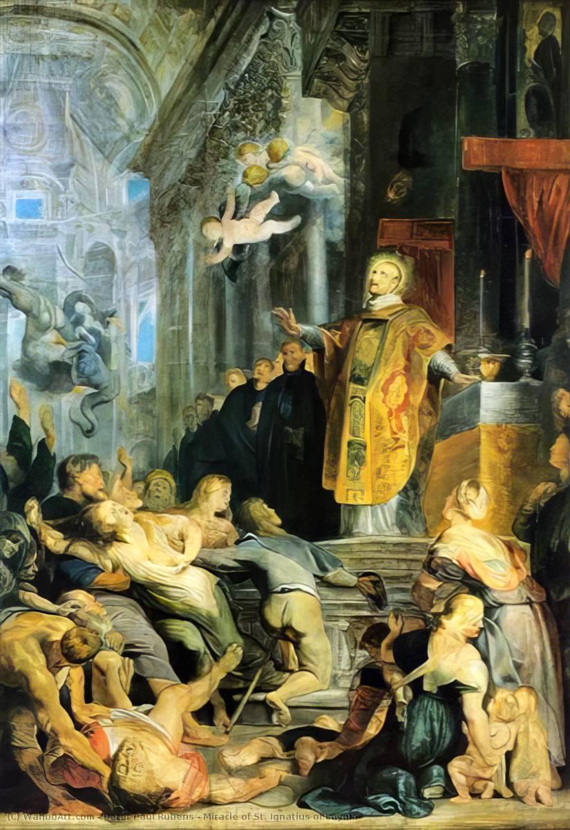 Miracle of St. Ignatius of Loyola - Peter Paul Rubens