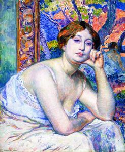 Theo Van Rysselberghe - The Model (also known as Le modèle)
