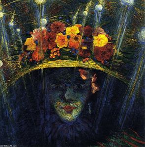 Umberto Boccioni - Modern Idol - (oil painting reproductions)