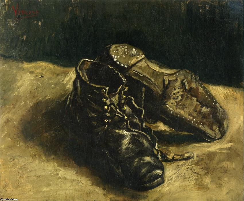 Van Ein Paar Von Vincent Gogh1853 1890 Schuhe1886 Ygvbf6y7