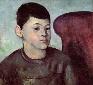 Paul Cezanne - Portrait of Paul Cezanne, the Artist's Son