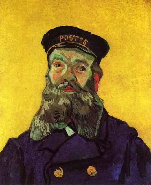 1890 Roulin 1853 Joseph Gogh Vincent De La Cartero Netherlands Impresiones Retrato Van I8qUzwIB