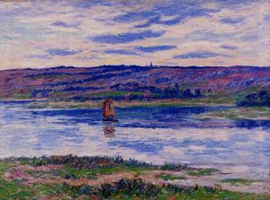 Henri Moret - The River Basin, Finistere