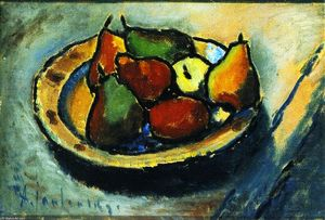 Alexej Georgewitsch Von Jawlensky - Still LIfe with Pears (also known as Still LIfe with Fruit)