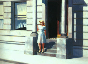 Edward Hopper - Summertime - (oil painting reproductions)