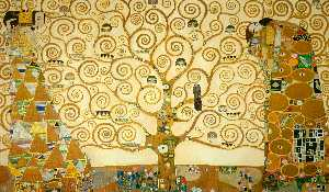 Gustav Klimt - The Tree of Life - (oil painting reproductions)