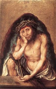 Albrecht Durer - Christ as the Man of Sorrows - (Famous paintings)