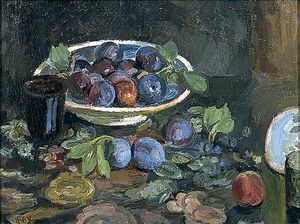 Vanessa Bell - Still Life Of Plums