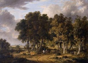 James Stark - A View In The New Forest