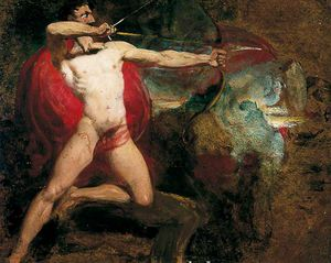 William Etty - Study For The Bowman