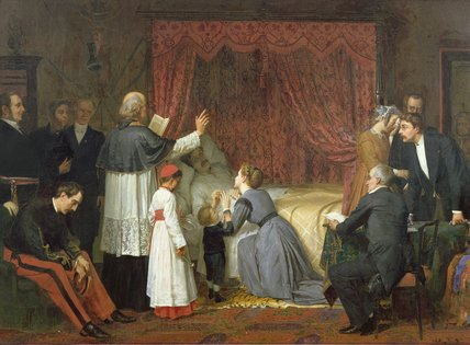 Matrimonio In Extremis : Matrimonio in extremis de marie francois firmin girard 1838 1921