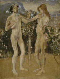 Henry Tonks - Adam And Eve
