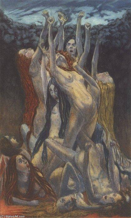 Revuelta de Carlos Schwabe (1866-1926, Germany) | Reproducciones ...