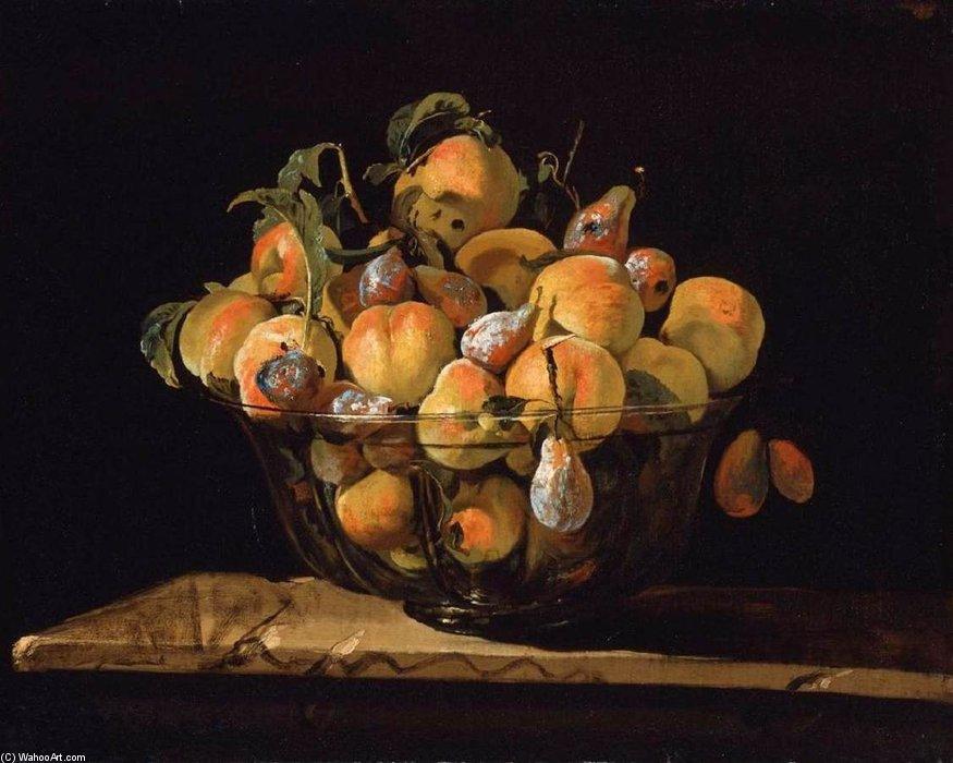 4af62a9dd pêssegos e peras dentro de vidro alguidar por Giovanni Paolo Spadino  (1659-1730