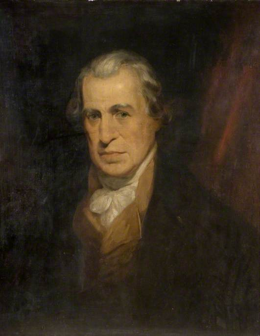 ジェームズ·ワット - バイ William Beechey (1753-1839, United ...