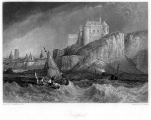 Clarkson Frederick Stanfield - Dieppe Engraving