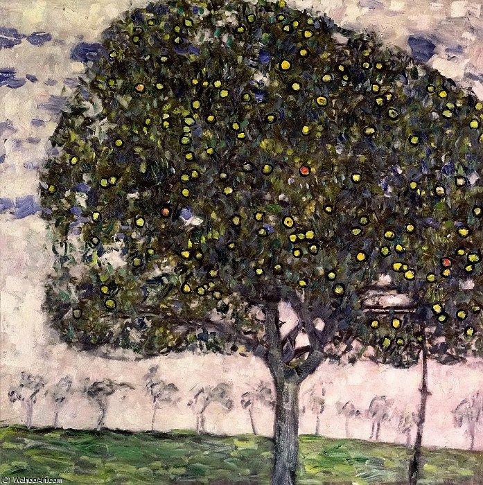 der Apfelbaum - Gustav Klimt