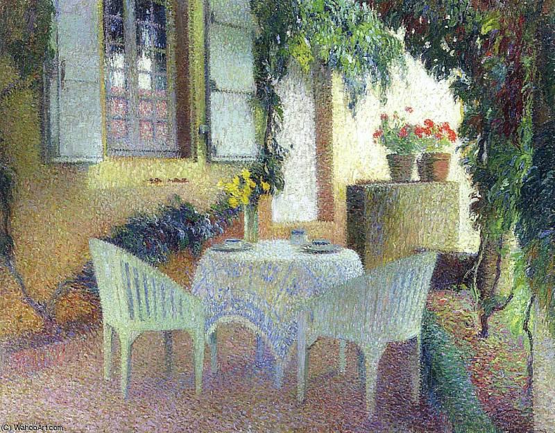 Terrasse du Manoir a Marquayrol - Henri Jean Guillaume Martin