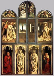 Jan Van Eyck - The Ghent Altarpiece (wings closed)