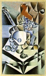 Juan Gris - Still life with flowers - -